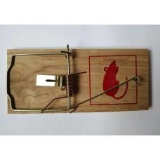 Мышеловка Крыс большая, деревянная колодка