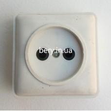 Розетка накладная 01, 10А 250В