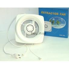 Вентилятор вытяжной Extractor Fan ⌀100мм с жалюзями