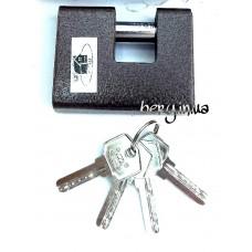 Замок навесной Пешка Gusam Гусам 80мм, лазерный ключ