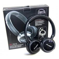 Наушники Atlanfa AT-7612 +mp3, FM, SD, Bluetooth, микрофон