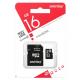 карта памяти 16Gb class 10 (adapter SD) Smartbuy