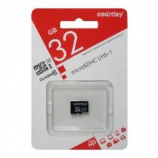 карта памяти 32Gb class 10 Smartbuy
