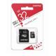 карта памяти 32Gb class 10 (adapter SD) Smartbuy