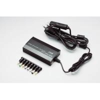 Универсальная зарядка для ноутбука от сети и прикуривателя (220,12-24В) 120W 8 разъемов