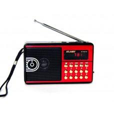 Радиоприемник Atlanfa AT-8976 +флешка, SD карта, minijack