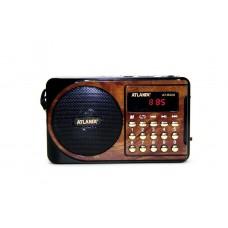 Радиоприемник Atlanfa AT-R22U +флешка, SD карта, фонарь