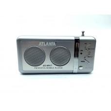 Радиоприемник Atlanfa AT-8957 +флешка, SD карта, minijack