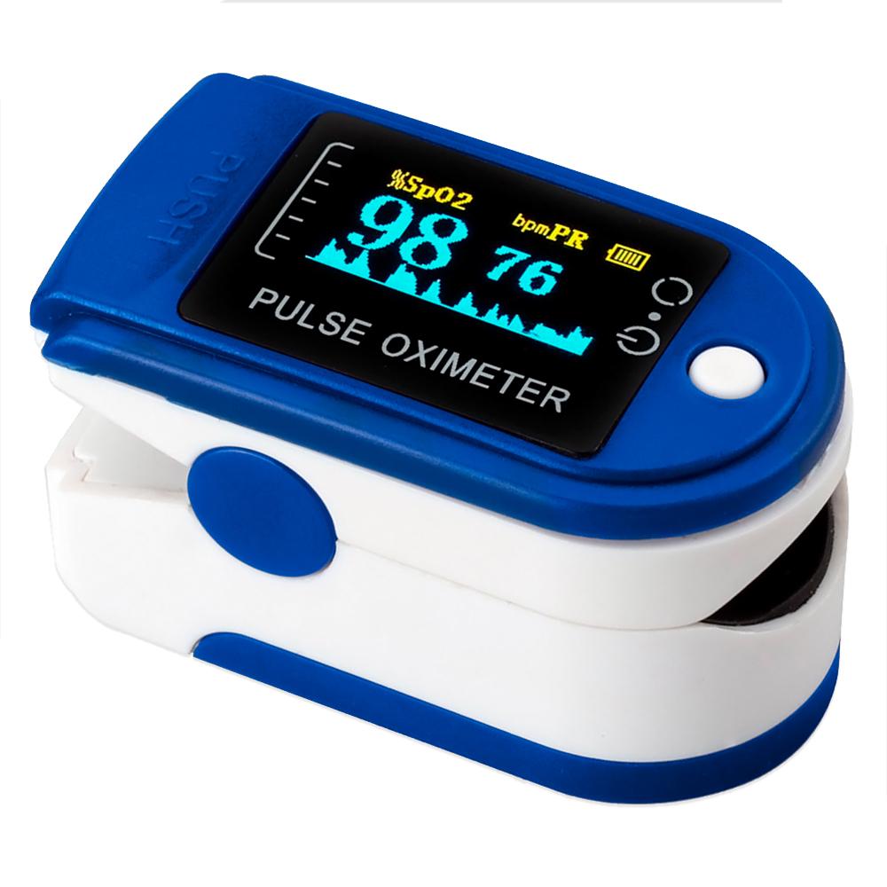 Пульс-Оксиметр - пульс и уровень кислорода в крови